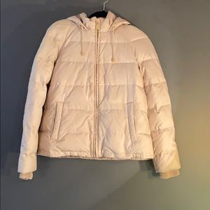 Juicy Couture medium hooded down jacket